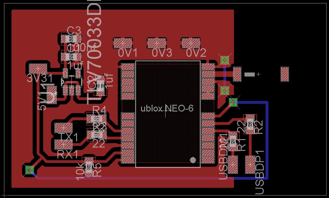 uBlox NEO 6 GPS module USB connection Chris Stubbs